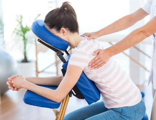 Seated Acupressure Massage Edinburgh